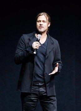 Brad Pitt presenta World War Z Guerra Mundial Z