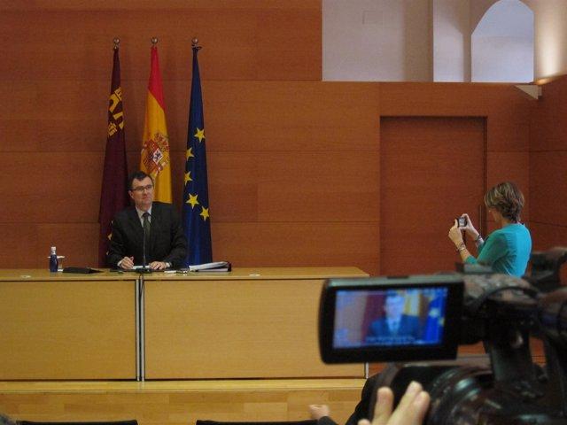 El portavoz del Gobierno regional, José Ballesta