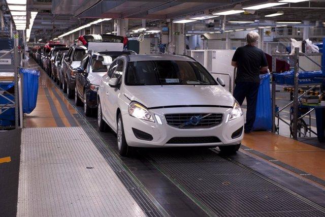 Planta De Volvo Cars En Torslanda (Suecia)