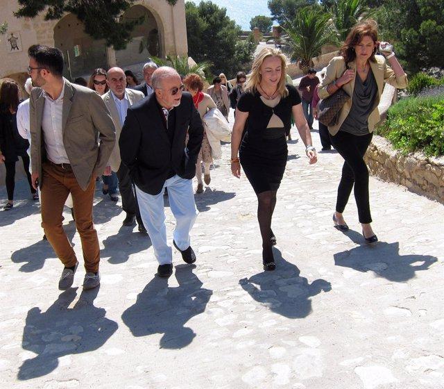 Adrián Santos, Miguel Valor, Sonia Castedo y Marta García Romeu