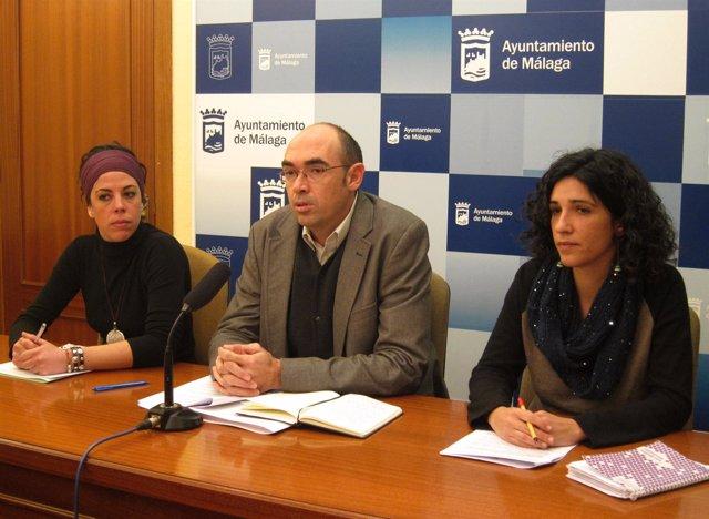 Ana García Sempere, Eduardo Zorrilla y Antonia Morillas