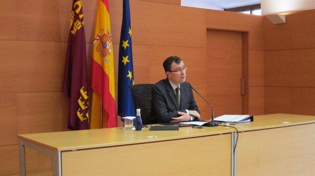 José Ballesta, portavoz Gobierno regional