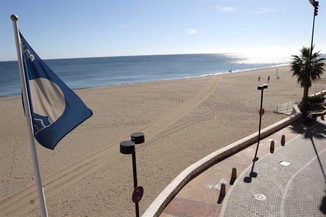 'Bandera Azul' En Una Playa