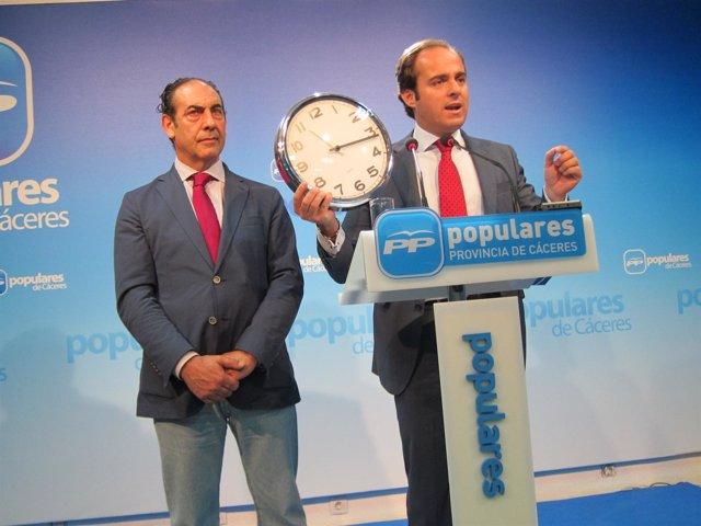 Juan Parejo, Vicesecretario De Organización Del PP En Extremadura
