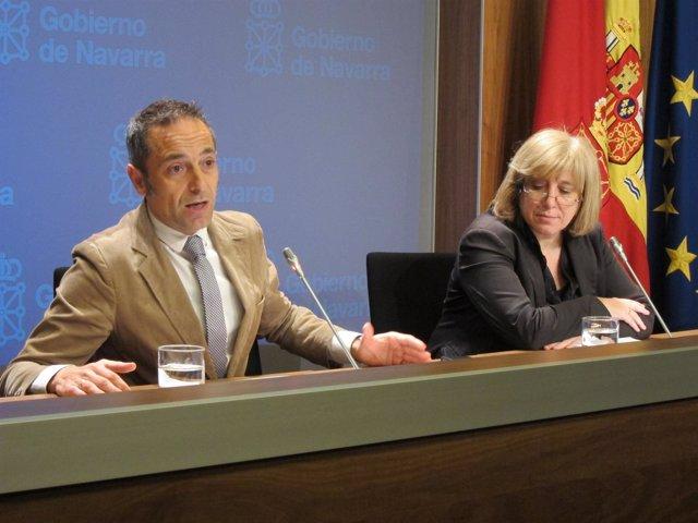 Juan Luis Sánchez de Muniáin y Ana Zabalegui.