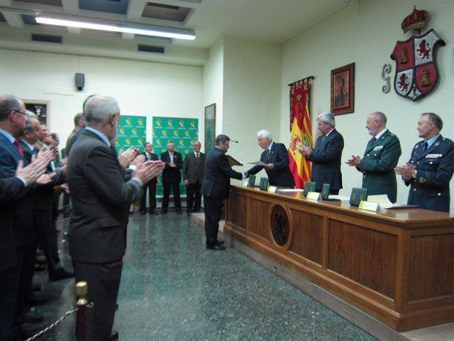 Celebración del 169 aniversario de la fundación de la Guardia Civil