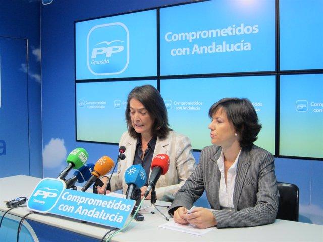 Luisa García Chamorro y Ana Vanessa García
