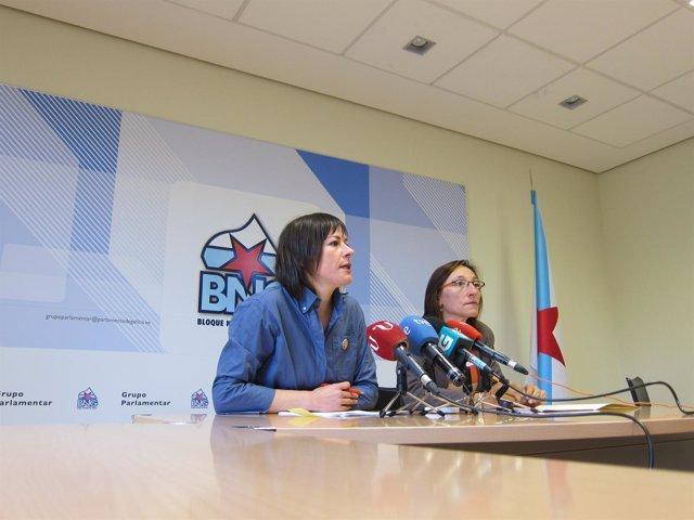 Ana Pontón y Rosana Pérez