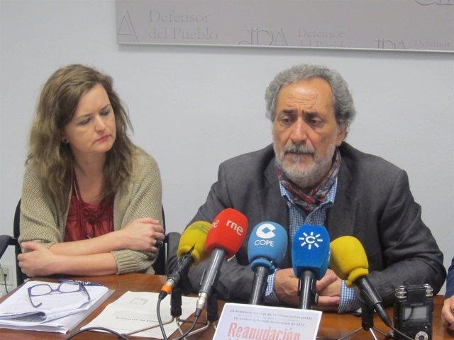 María José González y José Chamizo