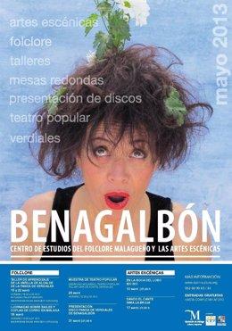 Cartel de la Muestra de Teatro Popular de Benagalbón