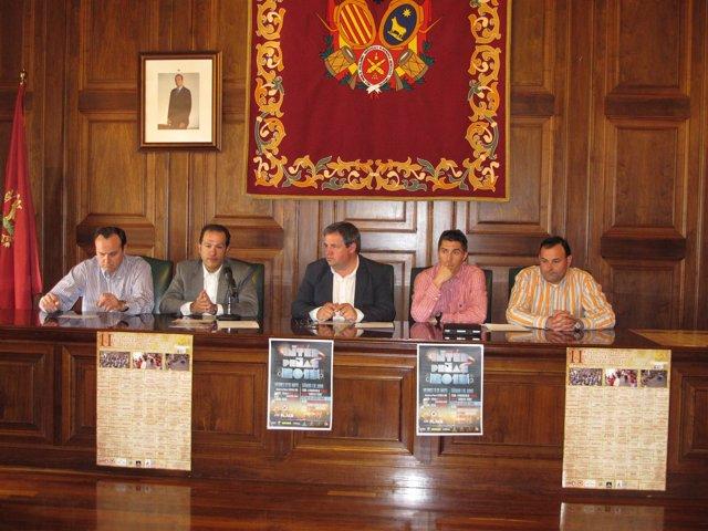 Presentación semana interpeñas Teruel