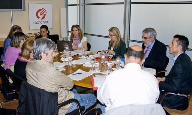 Reunión del consejo de administración de RTVV