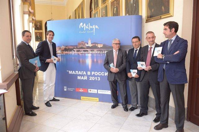 Imagen promocional de Málaga en Rusia Turismo 2013