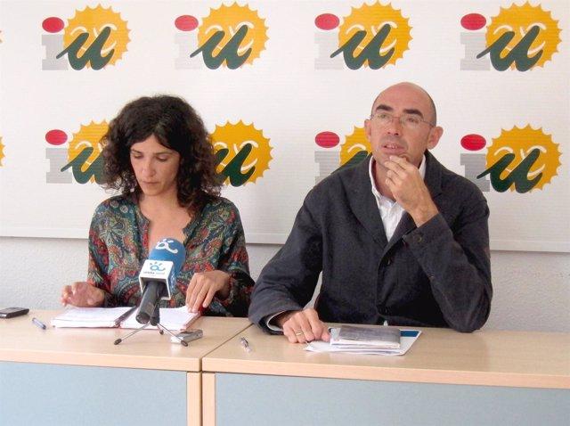 Toni Morillas y Eduardo Zorilla IU