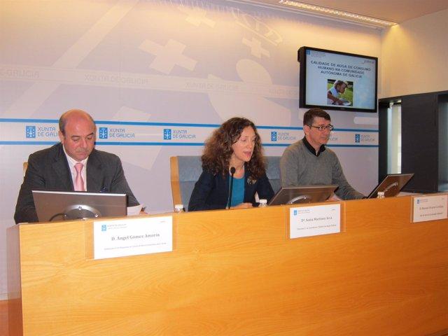 La directora xeral de ?Innovación e Xestión da Saúde Pública, Sonia Martínez