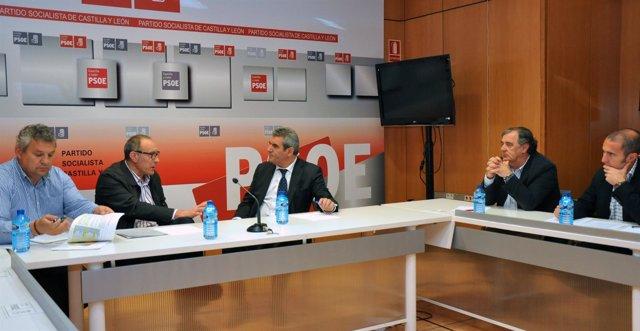 Reunión del PSOE y CC.OO. De Castilla y León