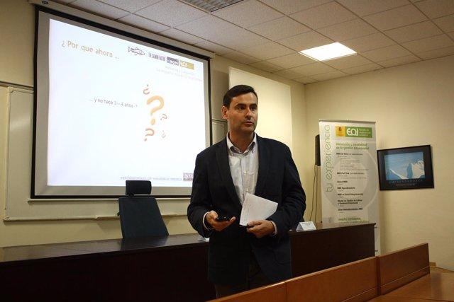 El CEO de la compañía de marketing móvil Ximobi, Javier Gascón