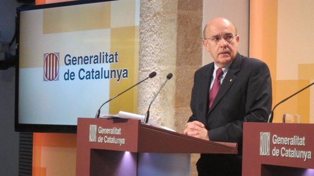 Boi Ruiz, tras el Consell Executiu