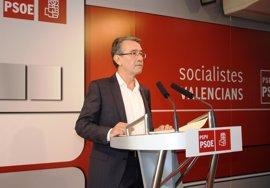 """El PSPV asegura la corrupción """"pone contra las cuerdas a un Fabra incapaz de activar un Consell paralizado"""""""