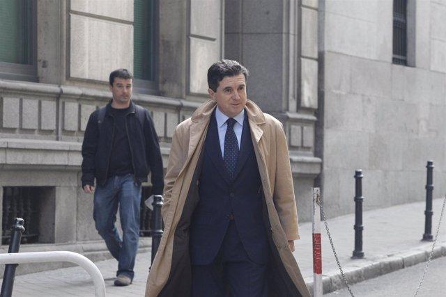 Jaume Matas acude a declarar a la Audiencia