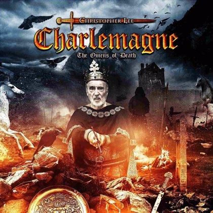 Christopher Lee graba un disco de heavy metal sobre Carlo Magno