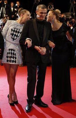 Director Abdellatif Kechiche, Lea Seydoux, La vida de Adele, Festival de Cannes