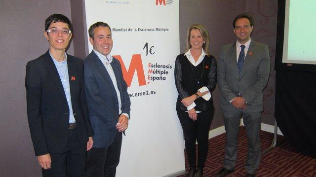Imagen de los expertos durante la presentación de 'Proyecto M1'