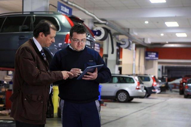 Recurso taller de reparación de vehículos
