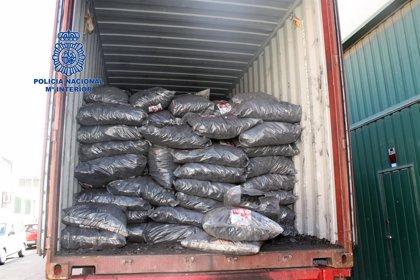 Intervienen 1.650 cápsulas con cocaína procedente de Colombia para ser distribuidas desde Madrid