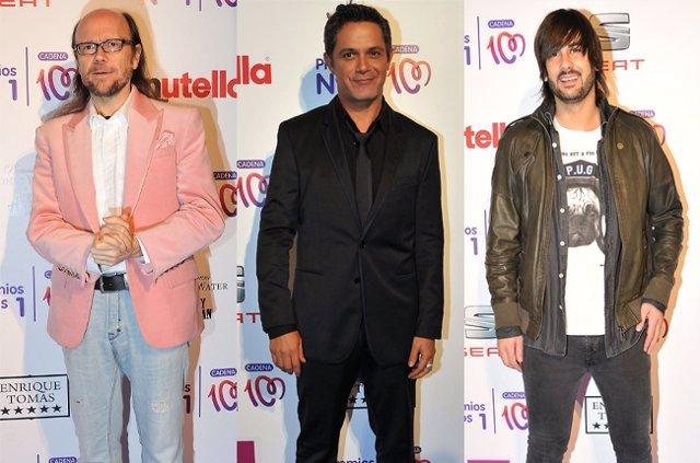 Los protagonistas de los Premios Cadena 100