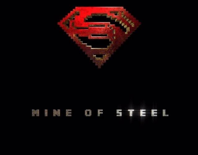 Man of Steel y Minecraft unen sus fuerzas en un poderoso trailer