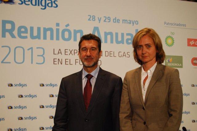 El presidente de la Asociación Española del Gas (Sedigas), Antoni Peris
