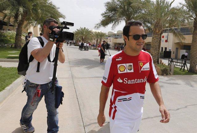 Felipe Massa en el GP de Bahréin