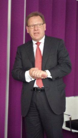 El consejero delegado de TeliaSonera, Per Arne Blomquist