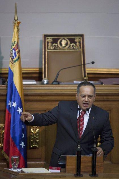"""Venezuela.- Cabello: Capriles va a Colombia a """"rendir cuentas"""" a su """"jefe el narcoparaco Uribe"""""""