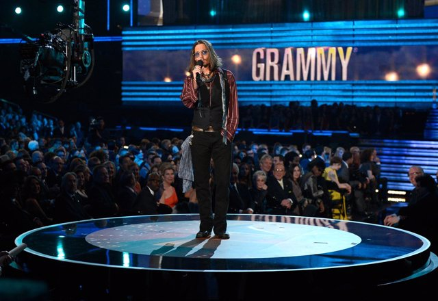 Onstage at the 55th Annual GRAMMY Awards at Staples Center on February 10, 2013