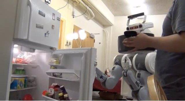 Crean un robor que se anticipa a los movimientos humanos