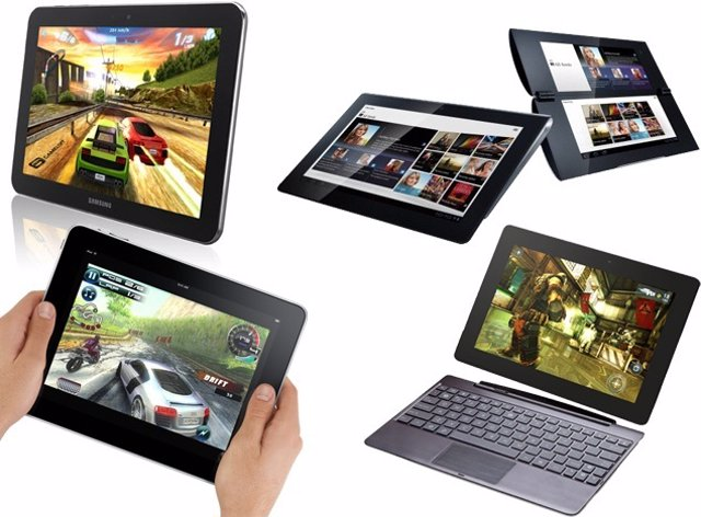 Distintos tipos de tablets