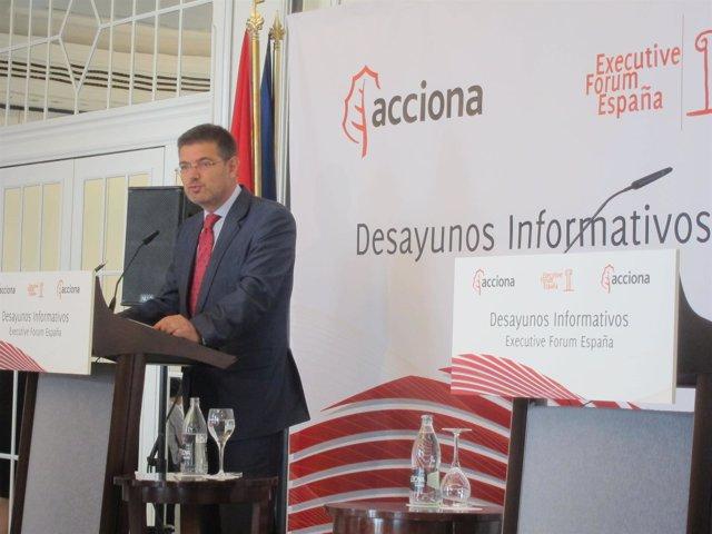 Rafael Catalá, secretario de Estado de Infraestructuras, Transportes y Vivienda