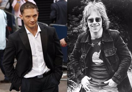 Tom Hardy quiere interpretar a Elton John