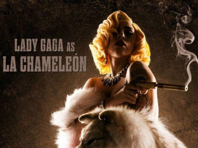 Lady Gaga debuta en el cine con 'Machete Kills'