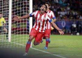 Falcao se despide del Atlético tras dos años y tres títulos
