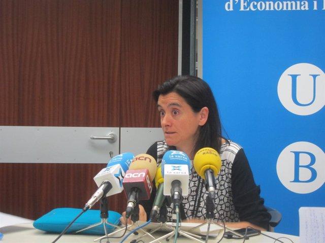 La prof. De la UB y coordinadora del proyecto NTA en España, Concepció Patxot