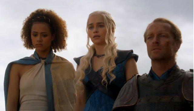 Fotograma del episodio final de la tercera temporada de Juego de Tronos