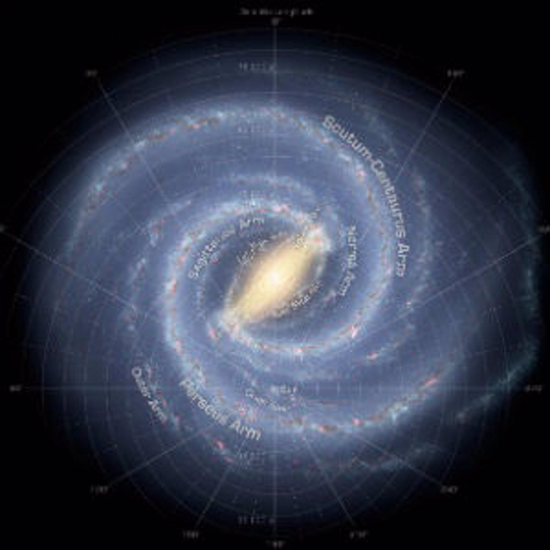 La Tierra se encuentra en un brazo principal de la Vía Láctea