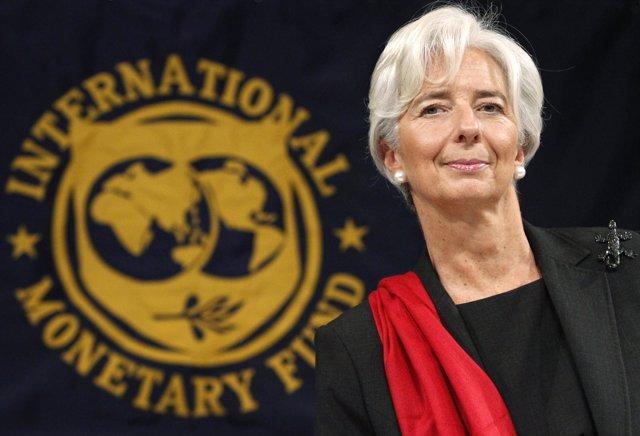 Christine Lagarde, Directora Gerente Del Fondo Monetario Internacional (FMI)
