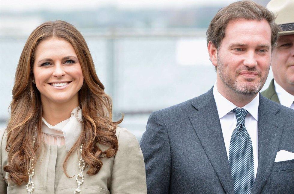 Princesa Magdalena de Suecia y prometido