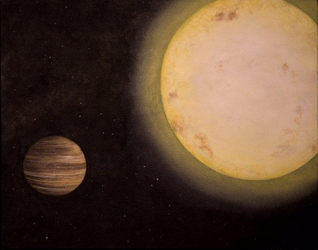 Descubren un planeta como Saturno a 700 años luz de la Tierra