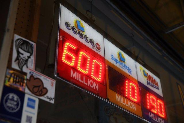 Powerball da el segundo premio más grande, 600 millones de dólares