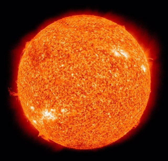 El Sol era enérgico en su infancia